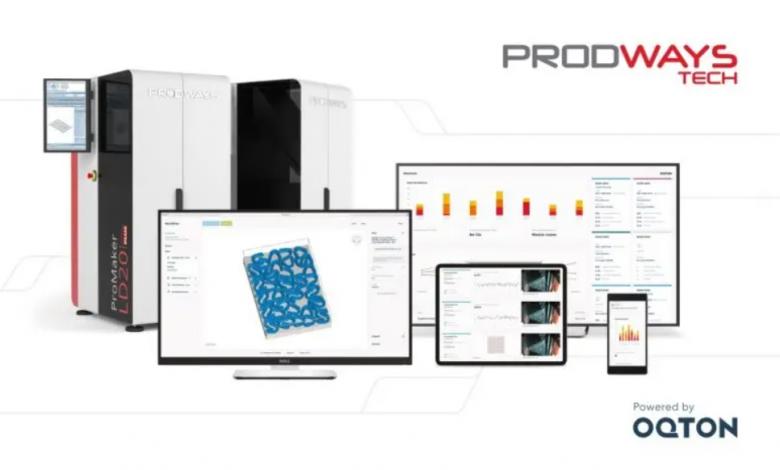Photo of Prodways integra Oqton per un migliore controllo end-to-end del processo di produzione