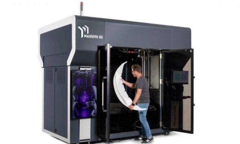 Photo of Massivit 3D lancia la stampante 3D su larga scala Massivit 5000 di livello industriale
