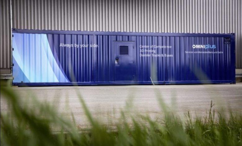 Photo of Daimler Buses presenta un centro di stampa 3D mobile per i pezzi di ricambio