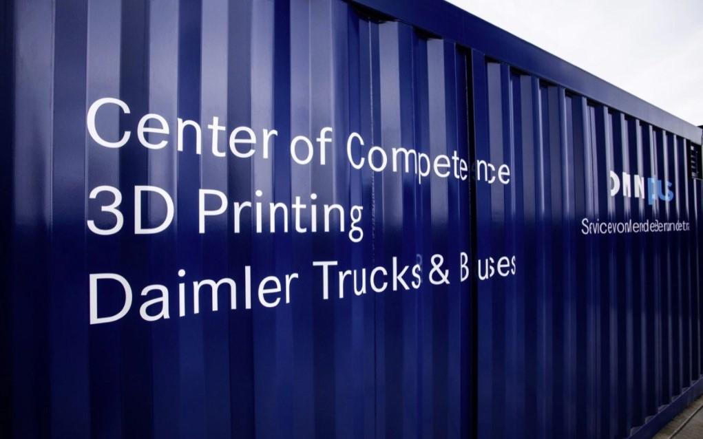 Daimler Buses e il suo marchio di servizi Omniplus hanno creato un centro di stampa 3D mobile per la produzione decentralizzata di pezzi di ricambio