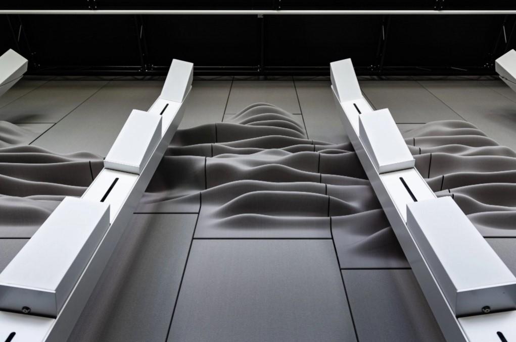 Aectual lancia pannelli acustici stampati in 3D personalizzati di massa