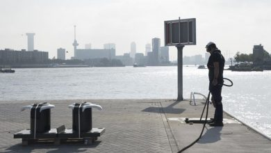Photo of Il porto di Rotterdam ha installato dissuasori in acciaio stampati in 3D