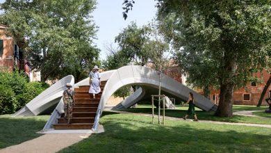 Photo of Completata a Venezia Striatus, la passerella pedonale in muratura stampata in 3D