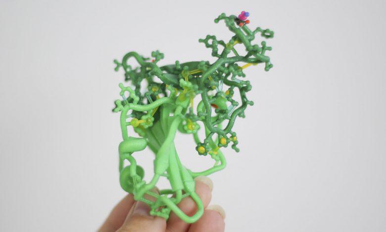 Photo of Biologic Models ha creato modelli proteici complessi a colori
