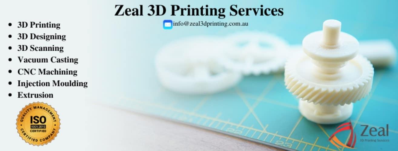 Zeal 3D Printing, un'azienda australiana di stampa 3D, ha ricevuto la certificazione ISO 9001:2015 per il sistema di gestione della qualità.