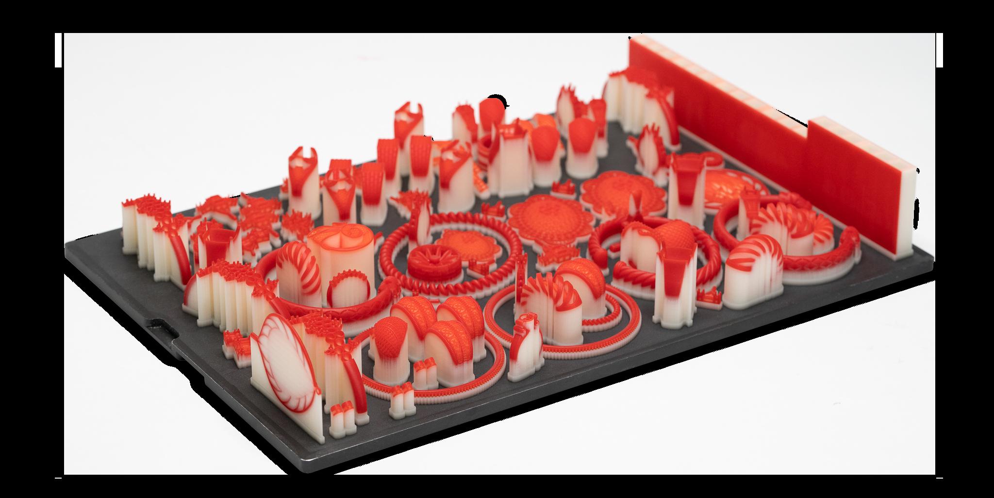 3D Systems migliora la progettazione di gioielli con VisiJet Wax Jewel Red