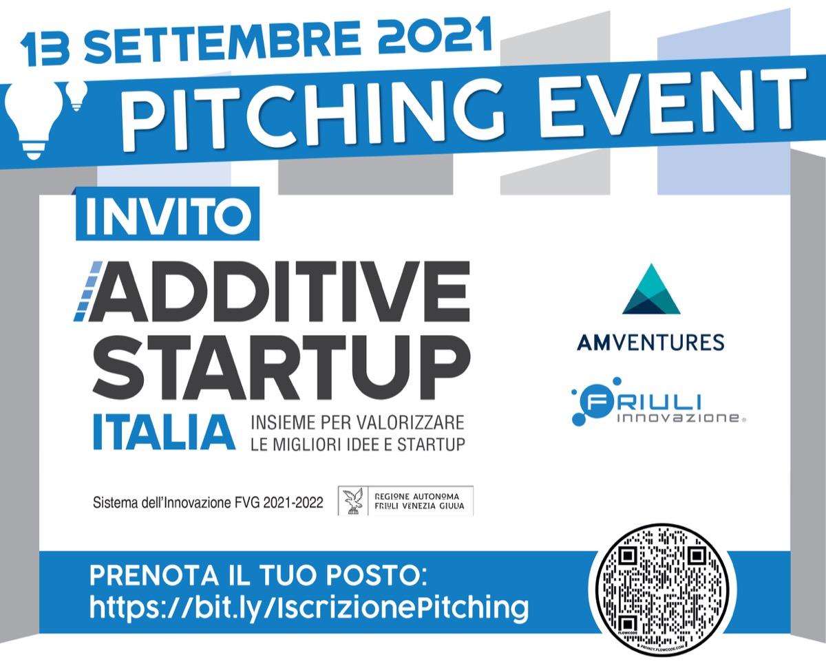 Friuli Innovazione e AM Ventures lanciano la seconda edizione di Additive Startup Italia
